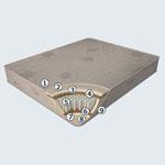 Матрас Oasis - Матрас Herbalis Oasis с пружинным блоком Pocket Spring D300 и еврокаркасом по периметру средней жёсткости. Пальмовая койра придаёт матрасу амортизацию и вентиляцию, натуральный перфорированный латекс - термостабильность и экологичность.