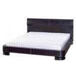 Кровать Vinotti Art Line BD031-18 - Кровать Vinotti Art Line BD031-18 с элементами натурального шпона, МДФ и кожвинила создана для ценителей качественной и комфортной мебели, для тех, кто предпочитает сочетание классических линий и безупречность форм.