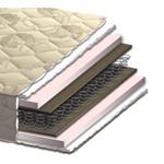 Матрас Моника - Матрас производителя Акант Моника - это двусторонний матрас с эффектом зима/лето на основе пружинного блока Боннель и упругого пенополиуретана. Комфортный матрас средней жесткости.