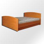Кровать Валерия Гербор (GERBOR) - Консервативный дизайн кровати Валерия Гербор (GERBOR) всегда актуальный и модный. Высокие плавные спинки кровати защищают матрас от повреждений и придают силуэту изящность.