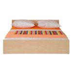 Кровать Ким БРВ (BRW) - Двуспальная кровати Ким БРВ (BRW) подойдёт в любом интерьере. Её аскетичные формы подойдут под любй дизайн Вашей комнаты. Цвет кровати очень хорошо сочетается со всеми цветами, будь то светлый, тёмный или яркий.