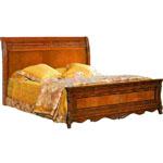 Кровать Елизавета 160 - Кровать Елизавета 160 выполненная в классическом стиле, поможет создать в Вашей спальне неповторимую атмосферу комфорта и уюта.