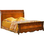 Кровать Елизавета 180 - Кровать Елизавета 180 выполненная в классическом стиле, поможет создать в Вашей спальне неповторимую атмосферу комфорта и уюта.
