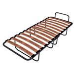 Раскладушка МХМ без матраса - Кровать-раскладушка МХМ без матраса со спальным местом - 190х80. Раскладушка компактная, удобная, состоит из металлического каркаса и ламелий.