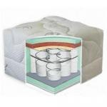 Матрас Delhi (Дели) - Матрас Delhi / Дели с независимым блоком пружин системы Pocket Spring (каждая пружина в независимом чехле) позволяет равномерно распределить нагрузку тела на матрас. Матрас с съемным чехлом.