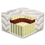Матрас Latex Dual (Латекс Дуал) - Беспружинный двухсторонний матрас Latex Dual/Латекс Дуал на основе натурального многозонного латекса и кокосовой койры. Кокосовая койра расположена ближе к одной из сторон матраса и обеспечивает ей большую жесткость и упругость. Матрас с съемным чехлом.