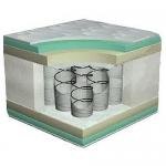 Матрас Monaco (Монако) - Матрас Monaco/Монако с натуральным латексом и Air Foam в сочетании создают прекрасный ортопедический и расслабляющий эффект.