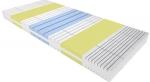 Матрас  Viskogalaxy (Вискогалакси) - Беспружинный матрас Viskogalaxy Вискогалакси изготовлен из пеноблока OrtoFoam с продольной перфорацией и структурой