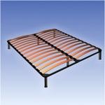 Каркас кровати двуспальный. - Ортопедическая каркас-кровать производителя MXM с расстоянием между ламелями 25 мм, 45 мм и 65 мм. Опоры каркас-кровати регулируются по высоте. Предназначен для использования как отдельное спальное основание.