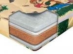 Матрас детский Nice (Найс) - Двухсторонней жесткости детский матрас Nice (Найс) прекрасно подойдет любому ребёнку. Матрас изготовлен на основе натуральных материалов - кокосовой койры и латекса. Имеет съёмный чехол, который всегда можно постирать в щадящем режиме.