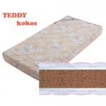Матрас детский TEDDY Kokos (ТЕДДИ Кокос) - Детский матрас TEDDY Kokos (ТЕДДИ Кокос) со съемным чехлом из 100% хлопка изготовлен для самых маленьких. Кокосовая койра придаёт матрасу жёсткость, упругость и ортопедичность, обеспечивает хорошую циркуляцию воздуха, пенополиуретан создаёт комфорт.