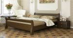 Кровать Диана - Кровать Диана это лассическая модель, притягивающая внимание за счёт округлых и приятных даже на ощупь элементов. Лишённая сложной резьбы она украсит собой как современный так и классический интерьер.Надёжность и экологичность также на высоте. Изготавлива